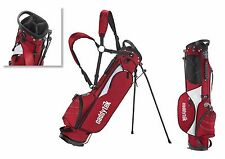 CaddyTek Golf Sunday Bag with Stands, CaddyLite 3.5, Red