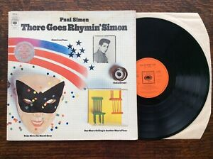 PAUL SIMON ~ THERE GOES RHYMIN' SIMON ~ GATEFOLD SLEEVE P1973 CBS S69035  VG/VG+