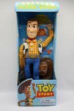 "1995 Toy Story DISNEY Original Pull String TALKING WOODY Doll 16"" Thinkway Toys"