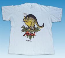 Vintage 1979 Crazy Hawaii  Bernard Kilban Cat T-Shirt