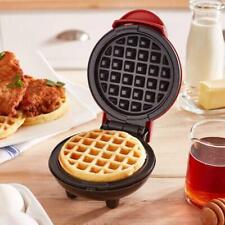 Mini Waffle Maker Machine Classic Breakfast Individual Round Kitchen Nonstick