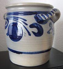 GURKENTOPF Einlegetopf Steinzeug Keramik Krauttopf Gurkenfass Gärtopf 2,5 Liter