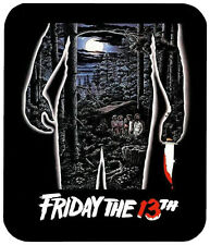 FRIDAY THE 13TH MOUSE PAD 1/4 IN. TV HORROR MOVIE MOUSEPAD