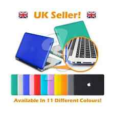 All Colours - 11, 13, 15 Inch Rubberised or Crystal Apple Macbook Air Case Cover