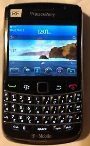 MINT BlackBerry Bold 9700 Black (T-Mobile) Fast Ship Test Engineering Phone