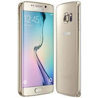 """5.1"""" Samsung Galaxy S6 G920V 4G LTE 32GB 3GB RAM 16MP Débloqué Téléphone Or Gold"""