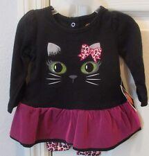 NWT Halloween costume newborn baby sleep play outfit 5-7lbs 2pc kitty cat infant