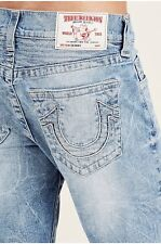 True Religion Men's Skinny Relaxed Cross Stitch Logo Jeans in Desperado Ride