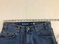 Vintage LEVI'S SILVER TAB Relaxed Denim Blue Cotton Zip Shorts Pants 32 USA