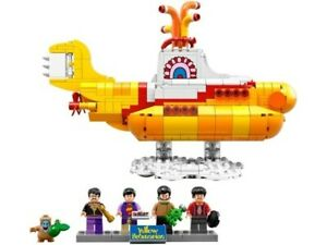LEGO IDEAS 21306   THE BEATLES YELLOW SUBMARINE   BRAND NEW (2016)