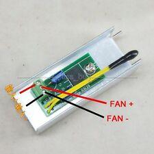DC 12V 1A Automatic PC CPU Fan Temperature Control Speed Controller Thermostat
