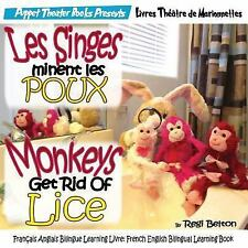 Monkeys French: Les Singes éliminent les POUX: Monkeys Get Rid of Lice :...