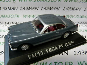 VA3 voiture 1/43 IXO Altaya : FACEL VEGA FV 1955
