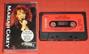 MARIAH CAREY - UK CASSETTE TAPE SINGLE - MTV UNPLUGGED EP - STICKERED CASE