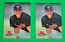 CAL RIPKEN Jr. (2 card lot ) 1992 STADIUM CLUB #154 1991 A.L. ALL-STAR see pics