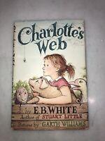 Early Ed 1952 Charlotte's Web E.B. White Garth Williams Harper Bro HC DC VG+