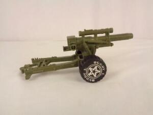 Vintage 1980 Buddy L Plastic Military Gun Howitzer Toy