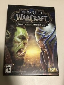 World of Warcraft Battle for Azeroth Expansion (PC, 2018) - Brand New And Sealed