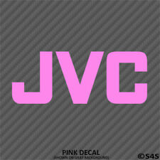 JVC Audio Car Stereo Vinyl Decal Sticker - Choose Color