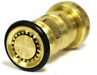 """1-1/2"""" NST Bras Fire Hose Combination Fog Nozzle UL Listed for Fire Protection"""