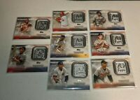2021 Topps Series 1 Blaster Box Exclusive 70th Logo Medallion Relics Lot Of 8
