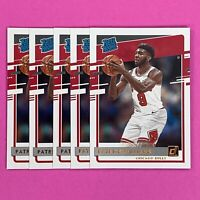 2020-21 Donruss Rated Rookie PATRICK WILLIAMS RC #227 LOT OF (5) CHICAGO BULLS