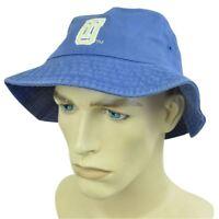 NCAA TULSA HURRICANES BUCKET SUN HAT SMALL MEDIUM BLUE