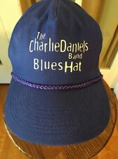 The Charlie Daniels Band Blues Hat Cap Country Music Blue Cotton