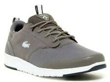 LACOSTE Mens Light 2.0 Sneakers Low Top Lace Up Athletic Shoe Dark Grey Size 8.5