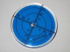 66mm x 10mm Blue Audio Hifi  Turntable Spirit Level x 1 Accurate  Circular