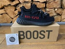 Adidas Yeezy Boost 350 V2 Core Black/Red BRED CP9652 UK 7 EU 40 2/3 Authentic