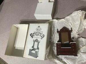 Rare HTF No.51014 X-acto Coronation Victorian Dressing Case 1981 In Box LOOK!!