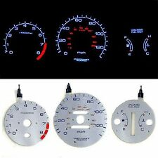 INDIGLO GLOW GAUGE DASH FACE EL CLUSTER FOR CIVIC EX 96-00 AT MPH