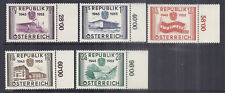 1955 Austria SC 598-603 w/ Selvage - MH Mint - WW2 Liberation