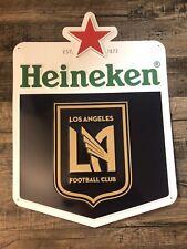 Heineken Lafc Soccer Club Beer Metal Sign