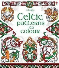 Celtic Patterns to Colour. Illustrated by David Thelwell - Paperback - Colouring
