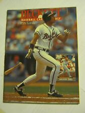 September 1991 Issue #78 Becket Baseball Card Monthly Magazine (GS2-17)