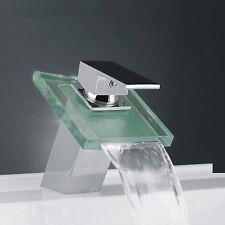 Lightinthebox Deck Mount Modern Single Handle Widespread Waterfall Bathroom L-52