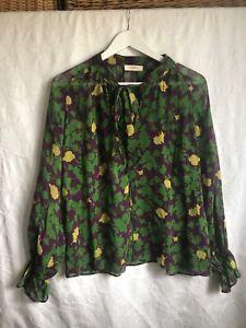 blouse BASH taille 1 - 100 % soie - modele Wylson