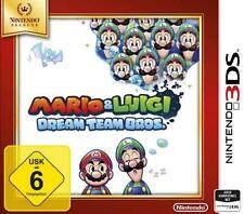 Nintendo 3ds Mario y Luigi Dream Team Bros selects alemán estrenar