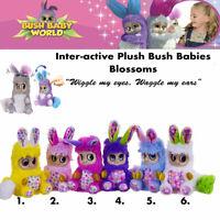 Bush Baby World Blossoms Plush Toys Child Bluebelle Butterlee Fleur Petalina++