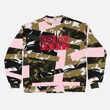 Kenzo Broken Camo Logo Sweatshirt | Size L SS17 RRP $545