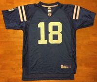 buy popular beaad 88fcb PRE-OWNED NFL INDIANAPOLIS COLTS PEYTON MANNING #18 REEBOK ...
