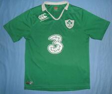 IRELAND Rugby (IRFU) / 2015-2016 Home - CANTERBURY - MENS Shirt / Jersey. Size M