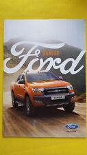 Ford Ranger Wildtrak XL XLT limitada Folleto Catálogo de ventas de mayo de 2016 Como Nuevo