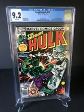 INCREDIBLE HULK #250 CGC 9.2 - WHITE PAGES *HULK VS. SILVER SURFER BATTLE COVER*