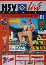 Programm 1995/96 HSV Hamburger SV - Werder Bremen