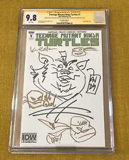 Teenage Mutant Ninja Turtles 1 Ciro Nieli & Kevin Eastman TMNT Sketch CGC SS 9.8