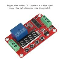 Multifunction DC 12V FRM01 Timer Module Relay Module Cycle Self-locking Delay SS