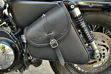 LEATHER SADDLE BAG FOR HD SPORTSTER IRON, 883, 48 ,72 MADE IN ITALY